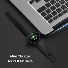 Inteligentny zegarek kabel do ładowania opaski ładowarka USB Line elegancki zegarek wygodny Element do POLAR Unite tanie tanio VODOOL CN (pochodzenie) Brak Na nadgarstek Zgodna ze wszystkimi 512 mb KALENDARZ english 128MB Dożywotnio wodoodporne 120 mAh