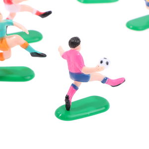 8 шт./компл. футбольная игра детская игрушка праздник гол ворота кондитерский искусство День Рождения Кекс Топпер кекс торт Топпер украшение кукла Новинка|Товары для украшения тортов|   | АлиЭкспресс