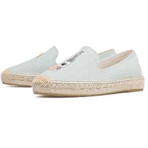 Image 5 - 2020 Top Fashion Special Offer Flat Platform Denim Sapatos Zapatillas Mujer Casual Tienda Sloludos Espadrilles For Shoes Flats