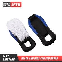 Spta pedal pé esteira escova de limpeza veículo hub pneu escova de lavagem escova de limpeza interior do carro limpar ferramentas de lavagem