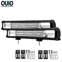цена на 20 Inch 540W Offroad LED Light Bar Flood Spot Combo Beam Work Light Fog Light For 4x4 4WD SUV ATV Headlight Track Trailers Boat