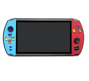"""32/64/128 Bit 5"""" 7"""" LCD X9 plus Double rocker 16G Handheld Retro Game Player Console Video MP5 TF Card for GBA/NES 10000 games 10"""