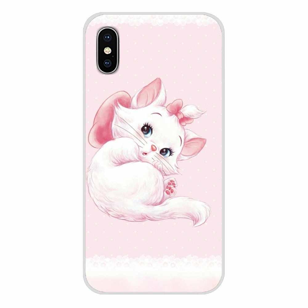"""""""Arystokratów"""" kot Kitty akcesoria pokrowce na telefon dla Xiaomi Redmi 4A S2 uwaga 3 3S 4 4X5 plus 6 7 6A Pro Pocophone F1"""