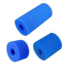 Горячая бассейн фильтровальная пена оборудование для очистки пены Многоразовые моющиеся губки картридж Губка аксессуары 3 размера