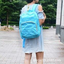 Łza zgniłe DuPont papierowy plecak DuPont papierowy wodoodporny plecak Tyvek plecak Kraftpaper plecak w Torby wspinaczkowe od Sport i rozrywka na