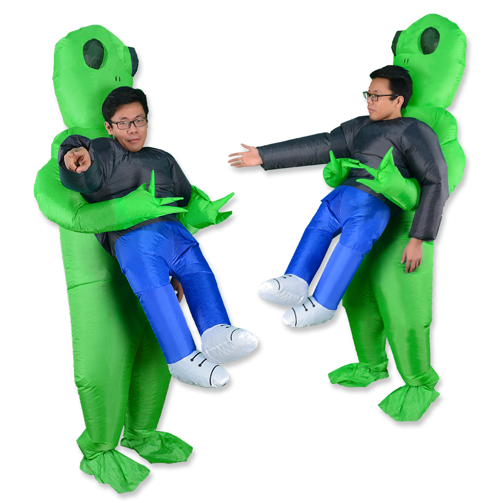Mascot Costume Alien Anime Cosplay Adult Women Human for Carrying