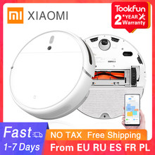 New XIAOMI MIJIA Sweeping Mopping Robot Vacuum Cleaner 1C for Home Auto Dust Sterilize 2500PA cyclone Suction Smart Planned WIFI