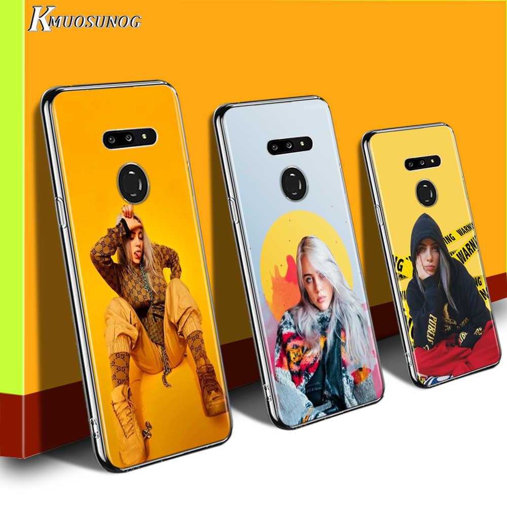 Billie Eilish Muziek Voor Lg W20 W10 V50S V50 V40 V30 K50S K40S K30 K20 Q60 Q8 Q7 Q6 G8 g7 G6 Thinq Telefoon Case