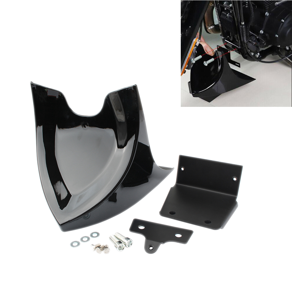Motorcycle Chin Lower Fairing Front Spoiler Air Dam Covers For <font><b>Harley</b></font> Sportster <font><b>Iron</b></font> <font><b>883</b></font> 1200 XL Super Low Custom XL1200C 04-19 image