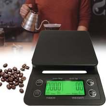 Электронные весы для кофе с таймером 3 кг/01 г 5