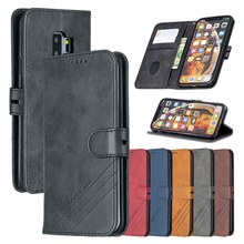 Кожаный чехол-книжка для Samsung Galaxy S9 Plus XCover 4 4S S20 FE 5G or 4G S20Lite M51