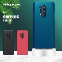 Oneplus 8 7T 7 Pro durumda Nillkin süper buzlu kalkanı sert İnce arka kapak kılıf OnePlus 8 7T 7 Pro 6 6T 5 3 5T telefon kılıfı
