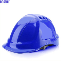 Protective Hard Hat Breathable Work Safety Helmet ABS Impact Resistance Bump Cap Construction Site Engineering Worker