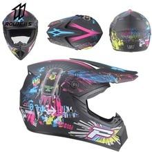 New Motocross Helmet Off Road Professional ATV Cross Helmets MTB DH Racing Motorcycle Helmet Dirt Bike Capacete De Moto Casco