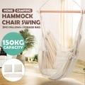 Белый гамак в скандинавском стиле для улицы  в помещении  в саду  в спальню  подвесное кресло для детей и взрослых  защитный гамак с подушкой