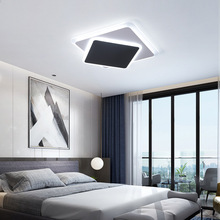 nordic led ceiling light Ceiling Lamp Fixtures cafe hotel Bedside Aluminum ceiling light fans ceiling lights cheap SerRickDon 20 30square meters Study Bed Room 90-260V Touch On Off Switch LED Bulbs Europe Holiday Polished Steel Gilding