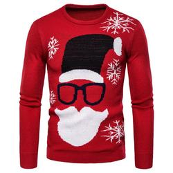 Mens Causal O Neck Sweater  Autumn Winter Christmas Pullover Knitted Sweaters