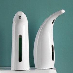 New 200ml/300ml/400ml Automatic Liquid Soap Dispenser for Home Bathroom Kitchen Touchless Sensor Hands Free