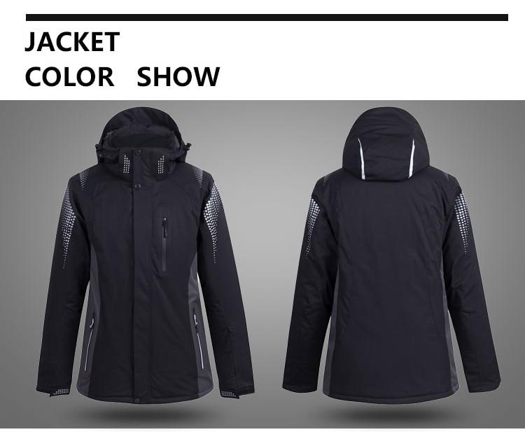 inverno impermeável respirável jaqueta de esqui +