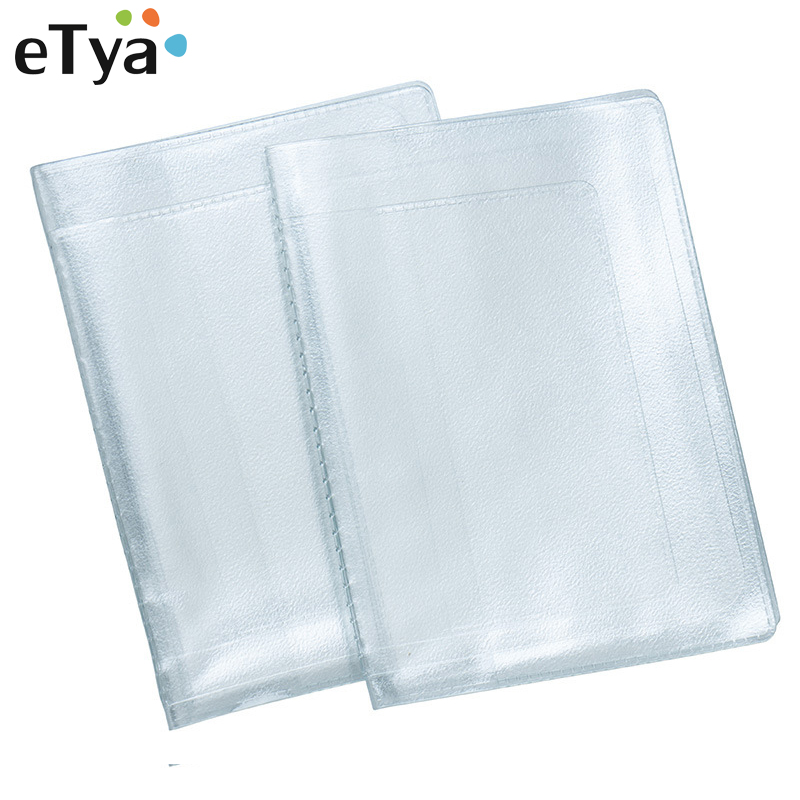 Multi-card Position Cover For Driver Documents PVC Transparent Car Document Protect Cover Wallet Men Women ID Credit Card Holder