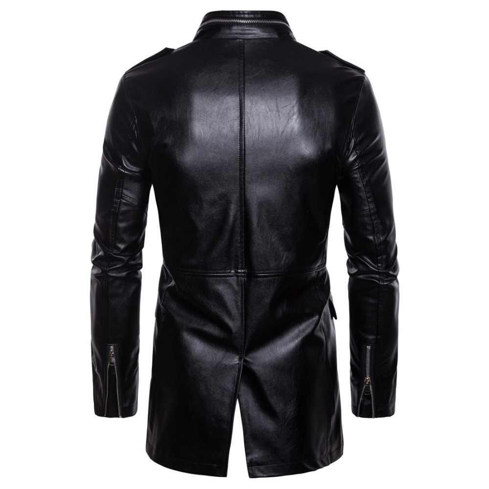 Новый классический мотоцикл куртка мужская свиная кожа Мото куртка мотоциклетная одежда байкерские куртки ветрозащитная куртка Большие размеры 5XL