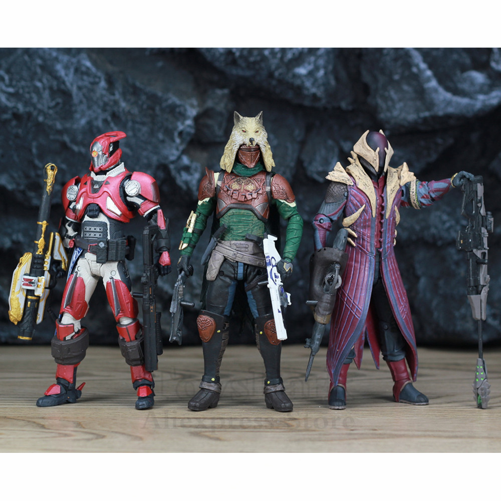 """Image 5 - McFarlane Toys DESTINY 7"""" Iron Banner Hunter Titan King's Fall Warlock Action Figure Model Million Blacksmith Shader Bungie Game-in Action & Toy Figures from Toys & Hobbies"""