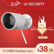 يي كاميرا مراقبة خارجية مضادة للماء 1080p كاميرا IP لاسلكية قرار للرؤية الليلية نظام مراقبة الأمن سحابة كام CCTV واي فاي