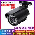ソニー IMX326 センサー 4MP 3MP 2MP 5MP CCTV AHD カメラ AHD-H セキュリティ弾丸 CCTV カメラ屋外防水 IP66 Ircut ビジョン