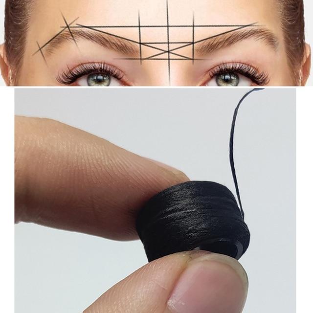 10pcs  Disposable Eyebrow  large Ruler Microblading Accessories Tool Measurement Mark Permanent Makeup Sticker Tattoo Tool Kit 5