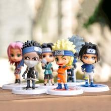 Naruto Action Anime Figure Shippuden Movie Model Doll Kakashi Sasuke Japan Anime Collection Model Boruto Figurine Kids Toys цена 2017