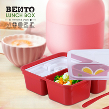 цена на Lunch Box With Fork & Spoon