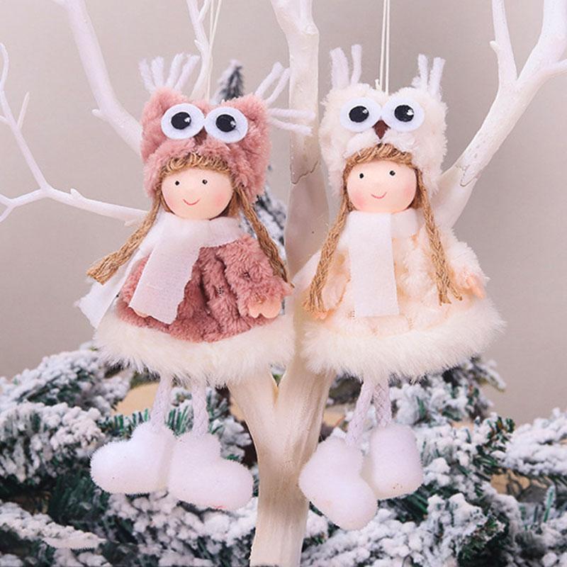 2020 New Year Gift Cute Christmas Angel Doll Xmas Tree Ornament Noel Deco Christmas Decoration for Home Natal Navidad 2019 Decor 13
