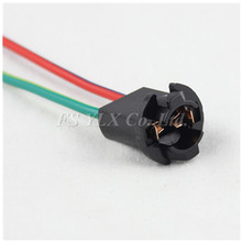 LED T10 Socket T10 Female Socket Extension Wire Harness For Parking Side Marker Light T10 bulb holder T10 lamp holder patriot pa 445 t10 x treme