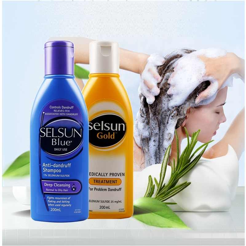 Australia Selsun Gold Amino Acid Shampoo Treatment Clean Soft Hair Problem  Anti Dandruff Seborrheic Dermatitis Scaling Shampoo| | - AliExpress