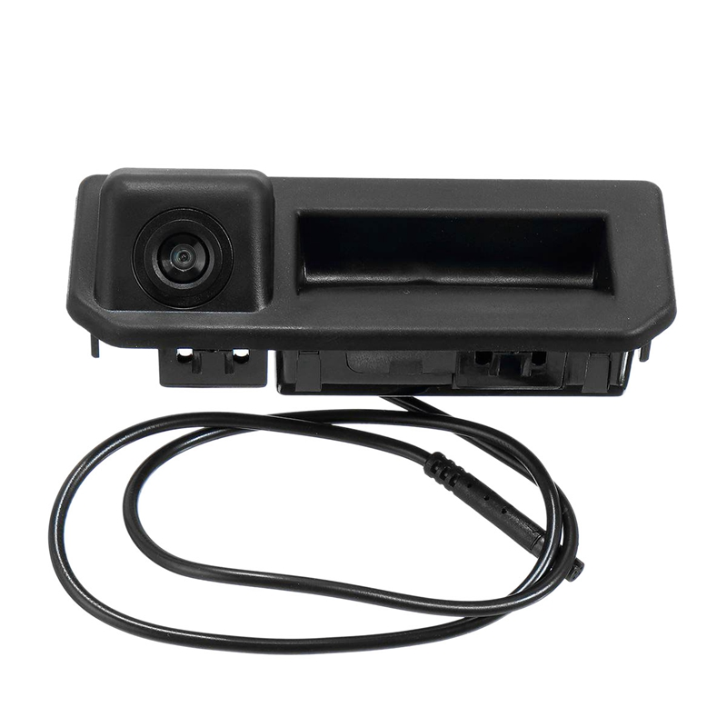Car Rear Trunk Tailgate Back Door Handle Rear View Parking Backup Camera HD for Vento Polo Sedan Facelift 2017   2019|Vehicle Camera| |  - title=