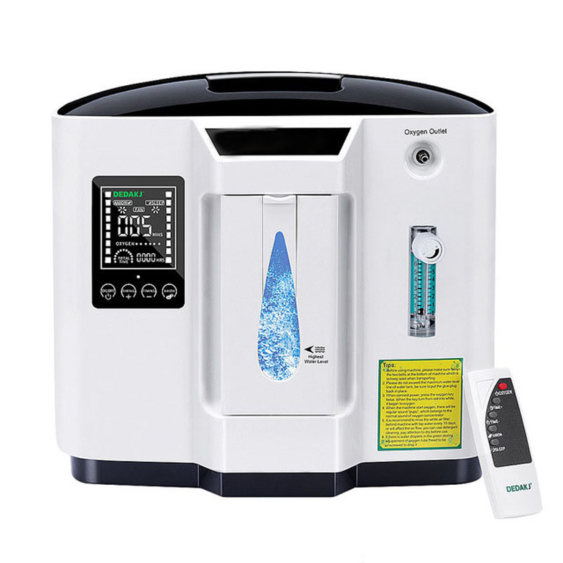 Family Oxygen Generator The Elderly Portable Oxygen Machine Oxygen Making Machine 1L-6L Air Purifier (English Version)