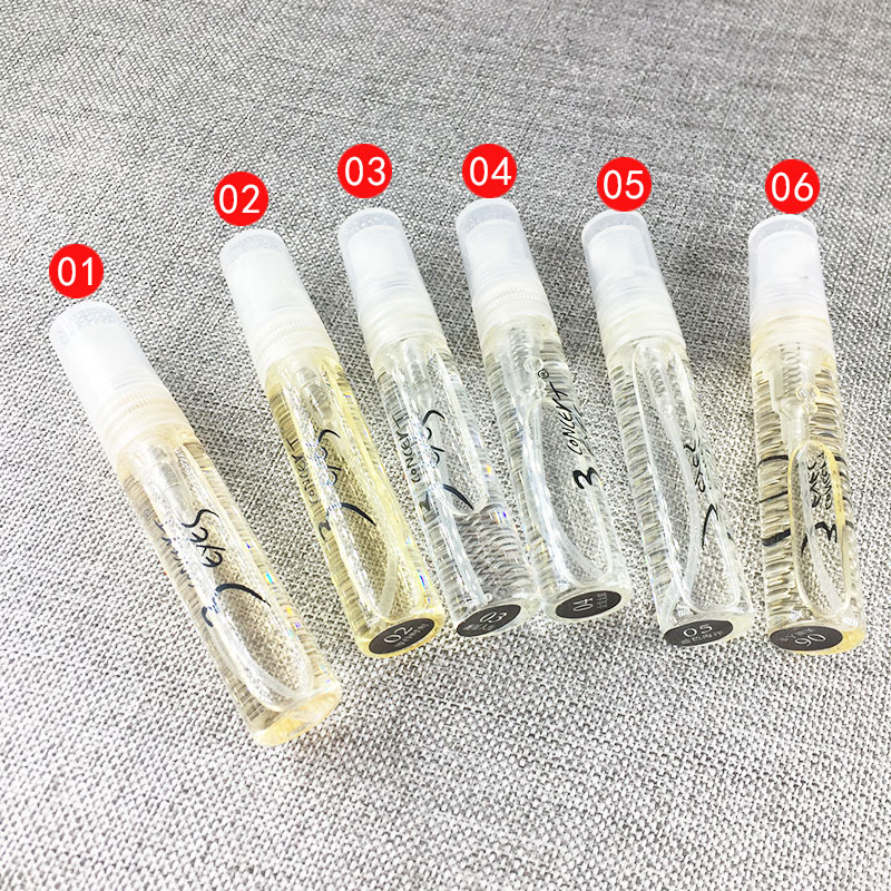 1PCS 5ML Perfume For Men And Women Atomizer Bottle Glass Fashion Lady Female Parfum Long Lasting Flower Fragrance Deodorant