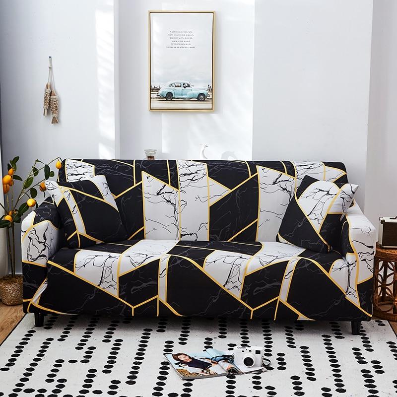 Elastic Sofa Cover Set For Living Room Sofa Towel Slip-resistant Sofa Covers For Pets Strech Sofa Slipcover