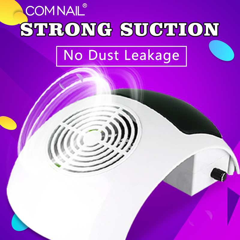 80W Nail Dust Collector Vacuum Cleaner For Manicures Hood Suction Dust Cleaner  Nail Dust Collector Nail Art Manicure Salon Tool