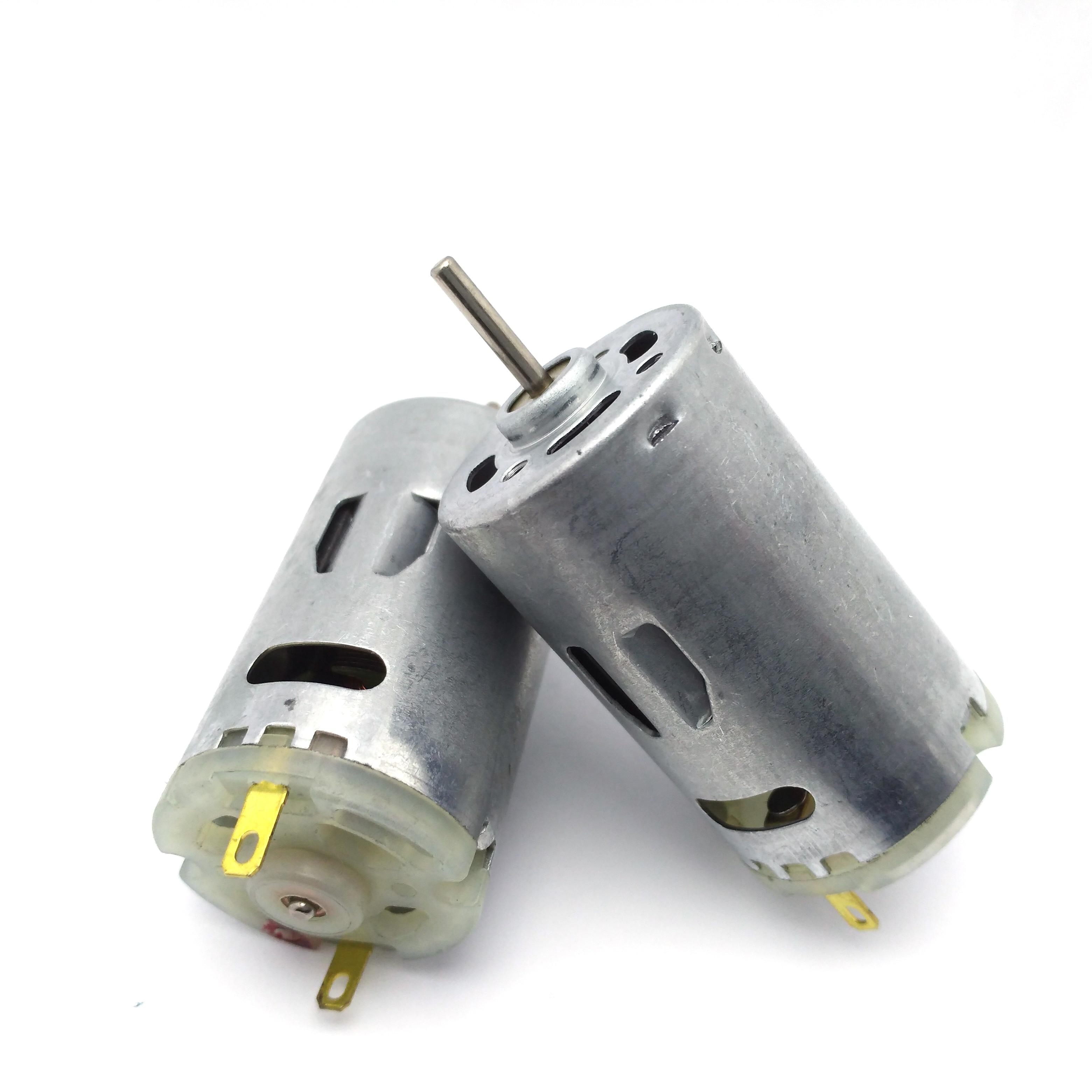12 Volt 24 V Mini Motor RS395 Electric DC 6V - 24V High Speed 7500/15000rpm Motors DIY Toys Home Appliance 12V Moter rs 395