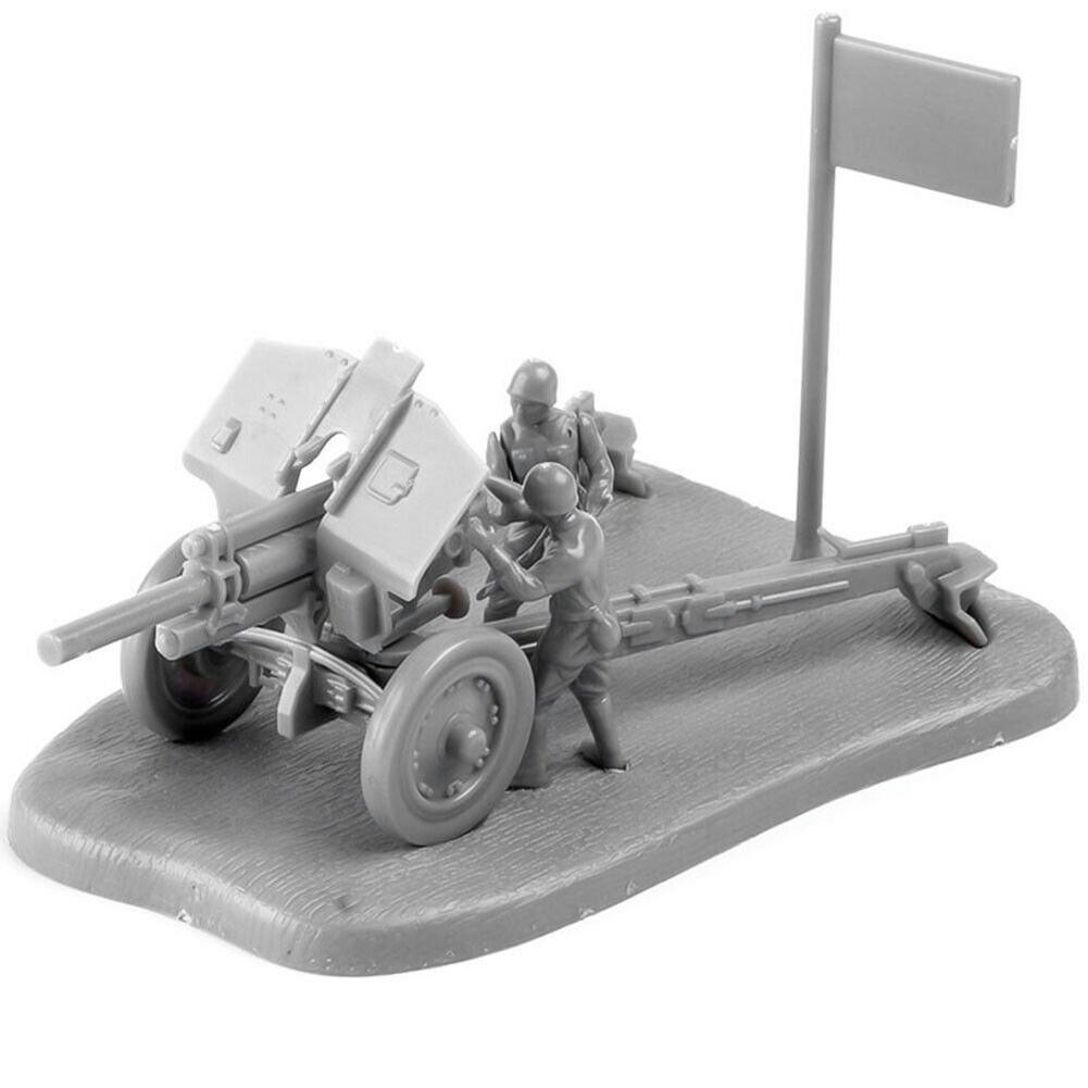 1/72 PAK40 M30 3D Anti Tank Assembly Model Building Puzzles Education Toy Kids Birthday Gifts