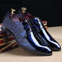 Mode hommes robe chaussures en cuir italien costume chaussures hommes chaussures d'entreprise designer scarpe uomo eleganti chaussure homme mariage