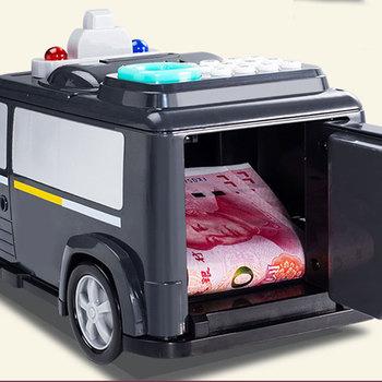 Dla dzieci skarbonka zabawki skarbonka zabawka dla dzieci elektroniczna skarbonka środków pieniężnych samochodu hasło skarbonka AN88 tanie i dobre opinie 256879 2-4 lat 5-7 lat