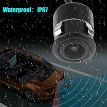 Auto Rückansicht Kamera 4 LED Nachtsicht Rückfahr Auto 170 Video Monitor CCD Wasserdicht Parkplatz Grad HD Q6K1
