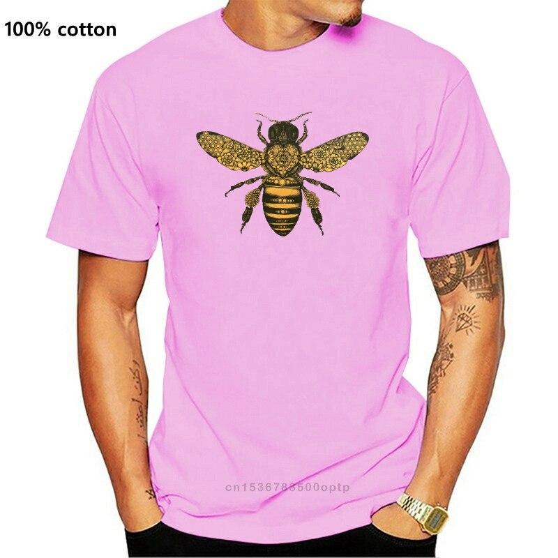 2020 Offre Spéciale nouveau hommes T-shirt abeille Baroque T-shirt papillon insecte tatouage Illustration T-shirt Indie Mod dessus tendance T-shirt