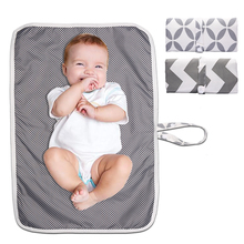 Baby Waterproof Changing Mat Portable Foldable Washable Diaper Pad Children Floor Mats Reusable Travel Care