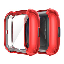 Protective Case TPU Anti-fall Full Cover Screen Protector For Fitbit Versa 2 Watch Smart Wearable Accessories Protective Case cheap Rondaful CN(Origin) Cases english Adult Other Push Message All Compatible support Smart Watch Screen Protective Case TPU Anti-fall Full Cover Screen Protector Case