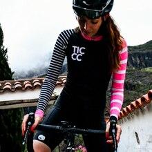Джерси TICCC женское для велоспорта, рубашка с длинным рукавом, топ для горных и дорожных велосипедов, весна-осень