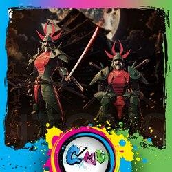 CMT In Stock Lutoys Model YoroiDen Samurai Troopers Ronin Warriors Naaza Armor Plus Action Figure Anime Toys Figure