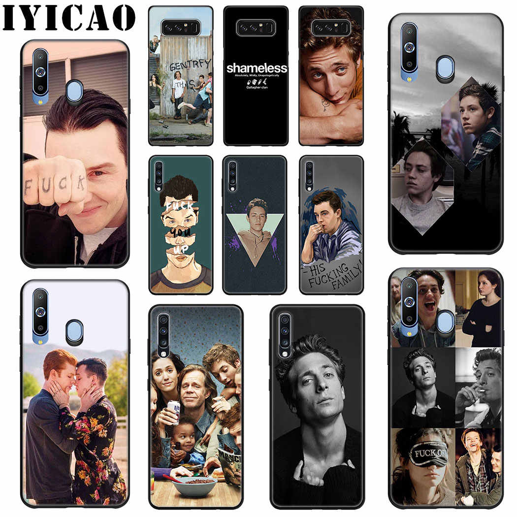 Lip Gallagher Shameless Soft Silicone Case for Samsung Galaxy A70 A60 A50 A40 A30 A20 A10 M10 M20 M30 M40 TPU Cover
